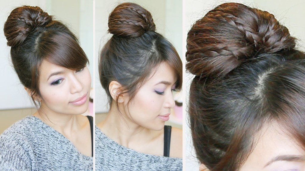 Fanned Faux Updo Wedding Hairstyles