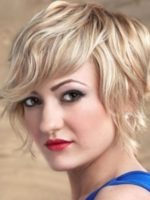 Short Hairstyles for Long Face and Wavy Hair