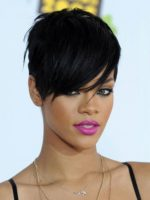 Short Hairstyles for Thick Hair and Long Face Women