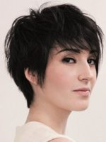 Short Messy Hairstyles For Long Faces Women